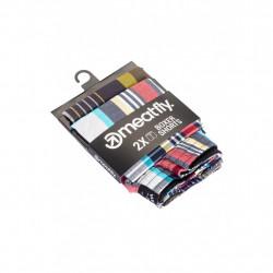 2PACK pánské trenky Meatfly vícebarevné (Jukebox 20 - E)