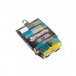 2PACK pánské trenky Meatfly vícebarevné (Jukebox 20 - B)