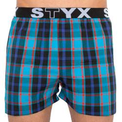 Pánské trenky Styx sportovní guma vícebarevné (B819)