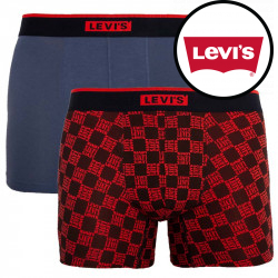 2PACK pánské boxerky Levis vícebarevné (100000513 004)