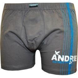 Pánské boxerky Andrie nadrozměr světle hnědé (PS 5048 A)