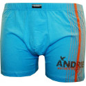 Pánské boxerky Andrie modré (PS 5048 D)