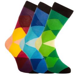 3PACK ponožky Bellinda vícebarevné (1004-307 B)