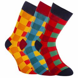 3PACK ponožky Bellinda vícebarevné (BE491004-307)
