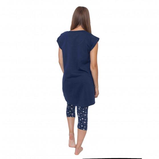 Dámské pyžamo Gina modré (19044)