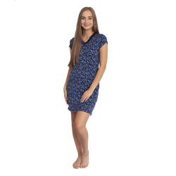 Dámská noční košile Cocoon Secret modrá (COC3069-KG)