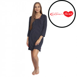 Dámská noční košile Cocoon Secret černá (COC3043-YKG)