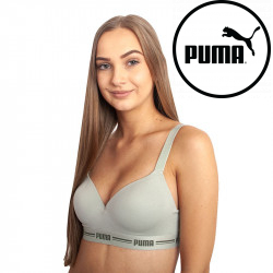 Dámská sportovní podprsenka Puma zelená (604024001 002)
