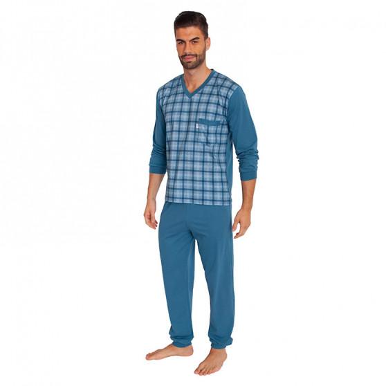 Pánské pyžamo Foltýn modré (FPD3)