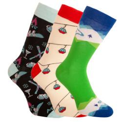 3PACK ponožky crazy Bellinda vícebarevné (1004-305 B)