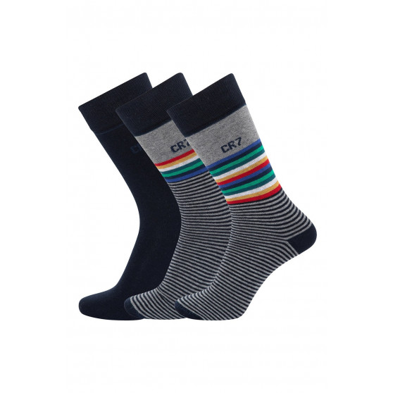 3PACK ponožky CR7 vícebarevné (8273-80-114)