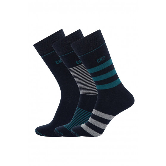 3PACK ponožky CR7 vícebarevné (8273-80-113)