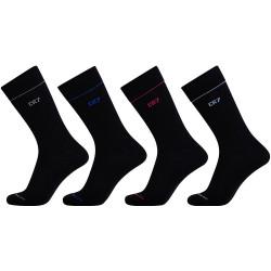 4PACK ponožky CR7 černé (8180-80-9)