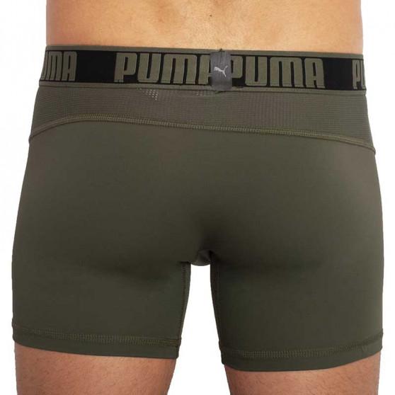 2PACK pánské boxerky Puma sportovní zelené (671017001 002)