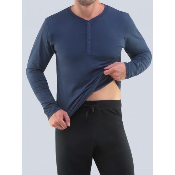 Pánské pyžamo Gino tmavě modré (79087)