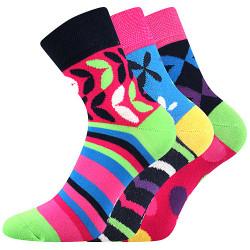 3PACK ponožky BOMA vícebarevné (Ivana 57)