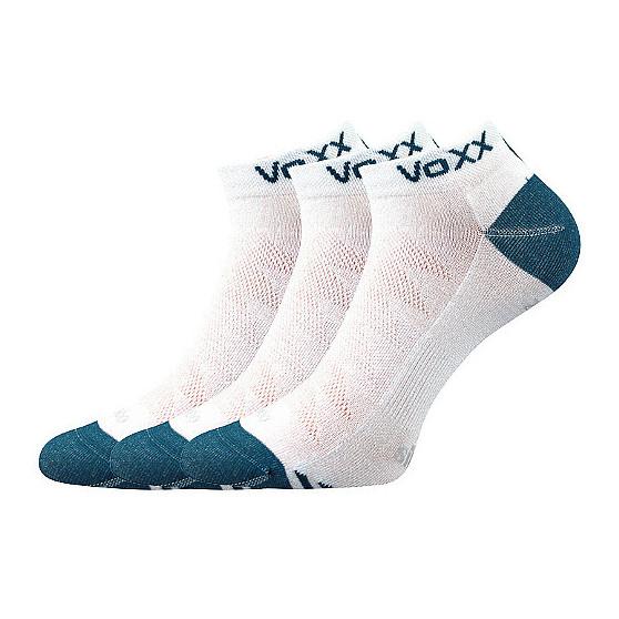 3PACK ponožky VoXX bambusové bílé (Bojar)