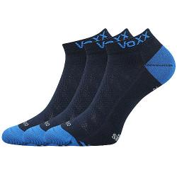 3PACK ponožky Voxx tmavě modré (Bojar)