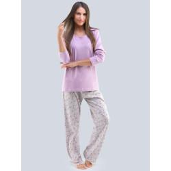 Dámské pyžamo Gina fialové (19109)