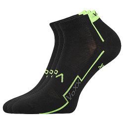 3PACK ponožky Voxx černé (Kato)