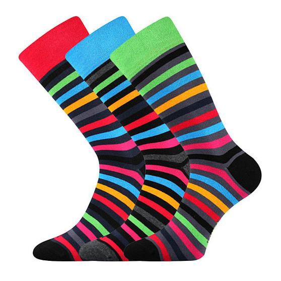 3PACK ponožky Lonka vícebarevné (Deline)