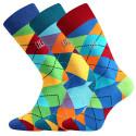 3PACK ponožky Lonka vícebarevné (Dikarus)