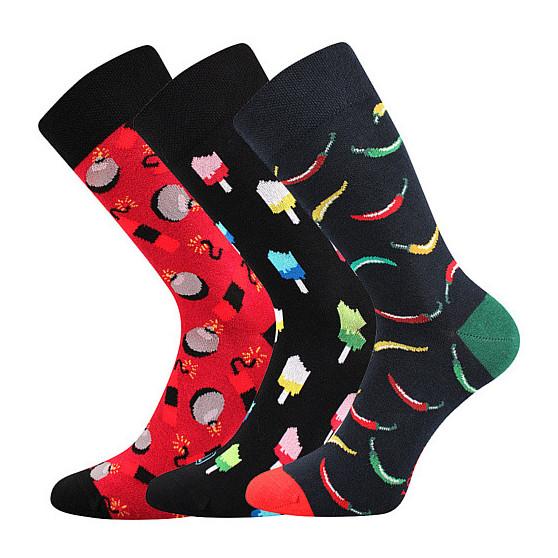 3PACK ponožky Lonka vícebarevné (Depate)