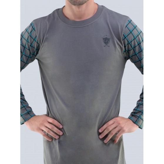 Pánská noční košile Gino šedá (79092)