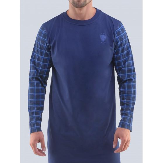 Pánská noční košile Gino tmavě modrá (79092)