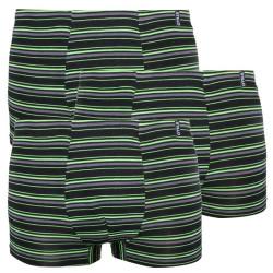 3PACK pánské boxerky Stillo bambusové zelené (STP-0151515)