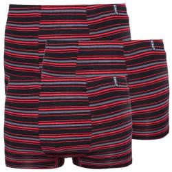 3PACK pánské boxerky Stillo bambusové červené (STP-0151515)
