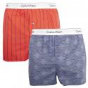 2PACK pánské trenky Calvin Klein vícebarevné (NB1396A-9KQ)