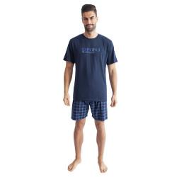 Pánské pyžamo Gino tmavě modré (79100)
