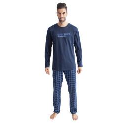 Pánské pyžamo Gino tmavě modré (79095)