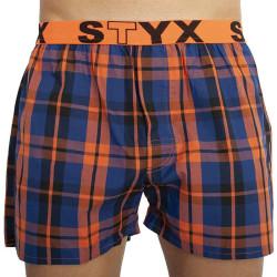 Pánské trenky Styx sportovní guma vícebarevné (B826)