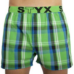Pánské trenky Styx sportovní guma vícebarevné (B830)