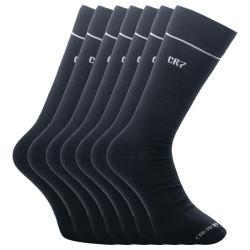 7PACK ponožky CR7 bambusové černé (8184-80-09)