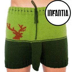 Ručně pletené trenky Infantia (PLET112)