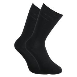 Ponožky Styx vysoké bambusové černé (HB960)