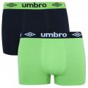 2PACK pánské boxerky Umbro vícebarevné (UMUM0241 A)