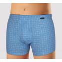 Pánské boxerky Andrie modré (PS 5334 B)