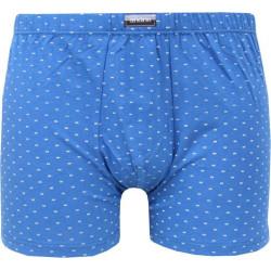 Pánské boxerky Andrie modré (PS 5333 A)