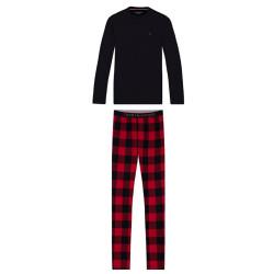 Pánské pyžamo Tommy Hilfiger vícebarevné (UM0UM01976 0YW)