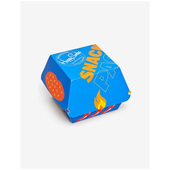3PACK ponožky Happy Socks Junk food socks gift box (XJUN08-0100)