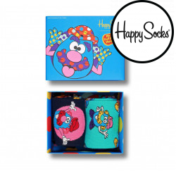 2PACK ponožky Happy Socks Mr Potato Head Gift Box (XPOT02-0100)