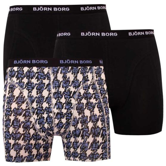 3PACK pánské boxerky Bjorn Borg vícebarevné (2031-1280-00081)