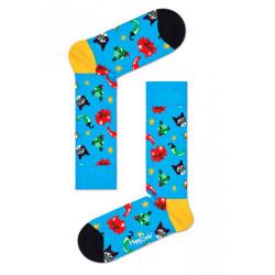 Ponožky Happy Socks Chilli Cat Sock (CHC01-6300)