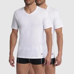2PACK pánské tričko Champion bílé (Y09G7)
