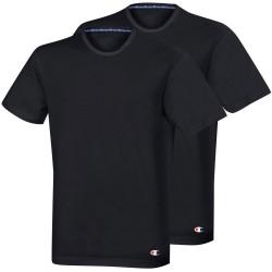 2PACK pánské tričko Champion černé (Y09G5)