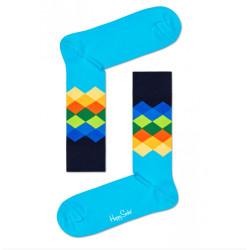 Ponožky Happy Socks Faded Diamond Sock (FAD01-6700)